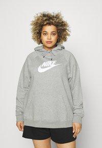 Nike Sportswear - Sweatshirt - grey heather/matte silver/white - 0