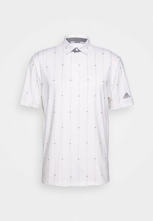 ULTIMATE SPORTS GOLF SHORT SLEEVE - Funktionströja - white/grey three/grey two