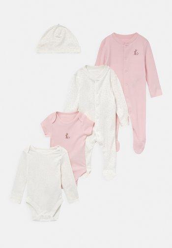BABY STARTER SET - Print T-shirt - pink