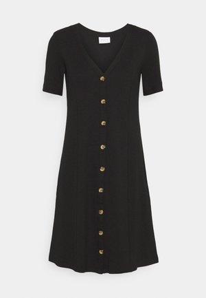 VICONIA DRESS - Neulemekko - black