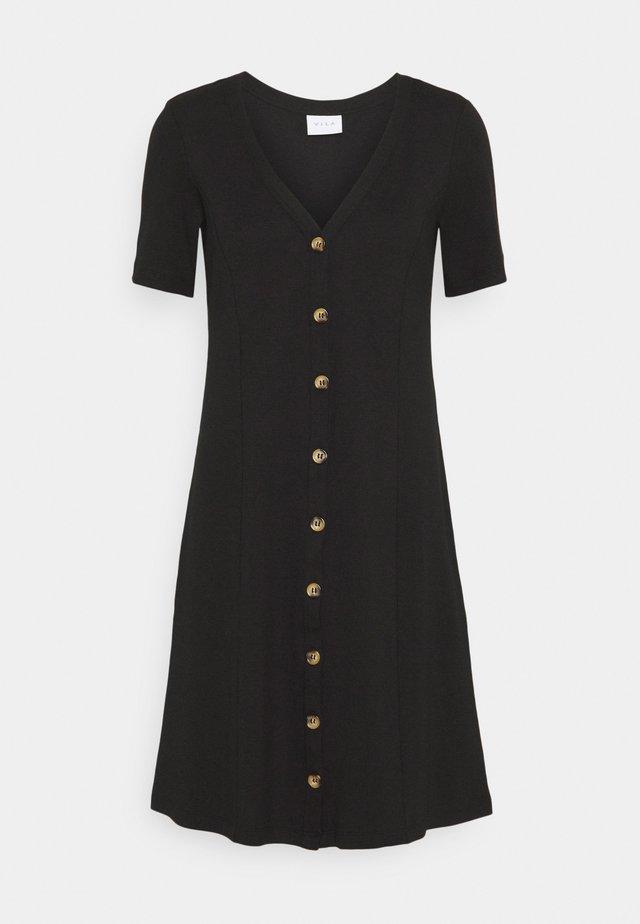 VICONIA DRESS - Sukienka dzianinowa - black