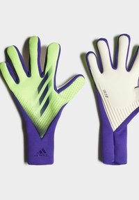 adidas Performance - X PRO GOALKEEPER GLOVES - Goalkeeping gloves - green - 1