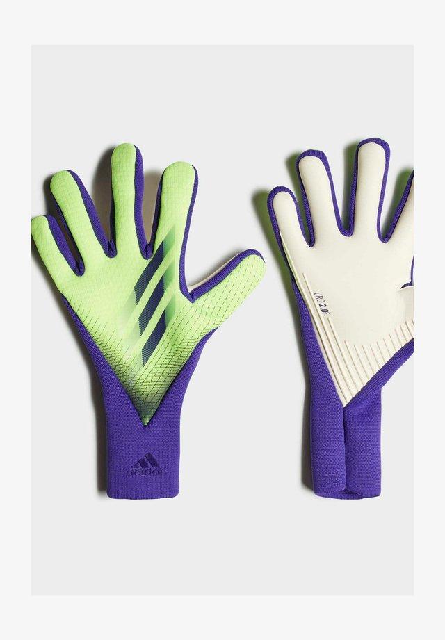 X 20 PRO - Rękawice bramkarskie - green