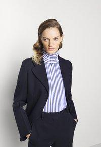 Victoria Beckham - Blouse - blue/white - 3