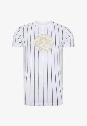 ROAR-TOUR T-SHIRT - Print T-shirt - white
