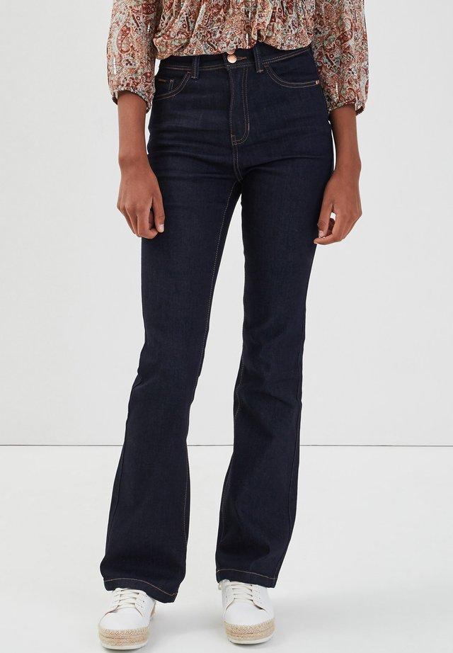 Jeans bootcut - denim brut