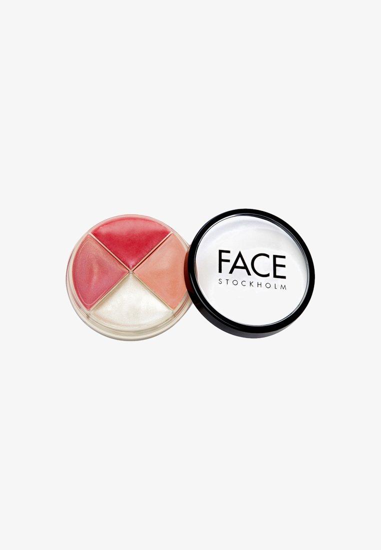 FACE STOCKHOLM - SMART WHEEL - Lip palette - nude