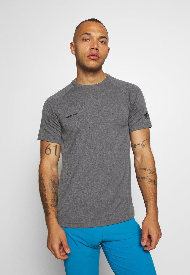 AEGILITY  - T-shirt con stampa - phantom melange