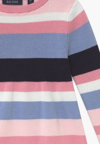 Blue Seven - KIDS STRIPE - Gebreide jurk - multi-coloured - 3
