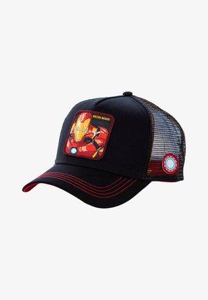 IRON MAN - Cap - schwarz