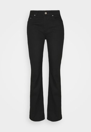 ANNY - Jeans bootcut - black
