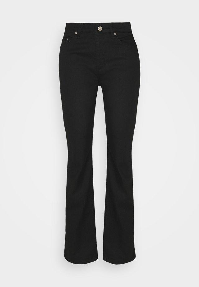 ANNY - Bootcut jeans - black