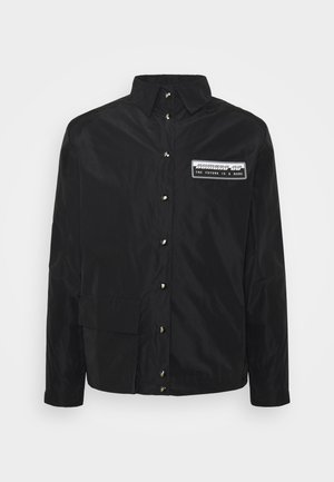 POCKET JACKET - Lehká bunda - black
