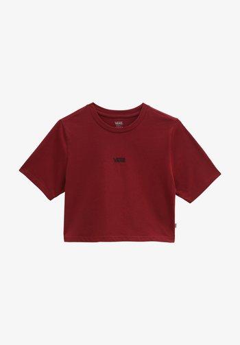 Basic T-shirt - pomegranate