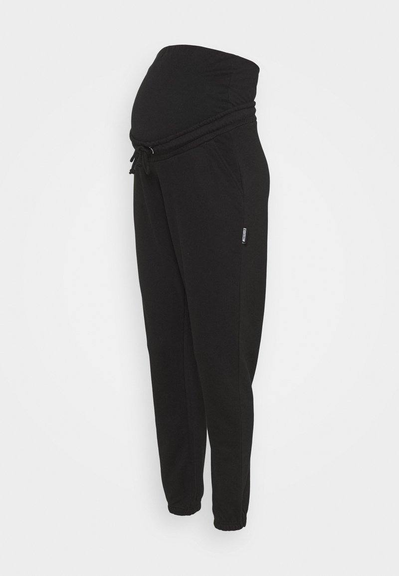 Missguided Maternity - JOGGER - Tracksuit bottoms - black