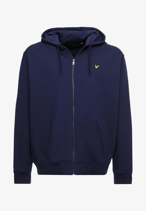 ZIP THROUGH HOODIE - Sweatjakke /Træningstrøjer - navy