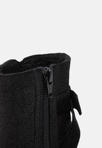 Friboo - LEATHER - Botas para la nieve - black - 5