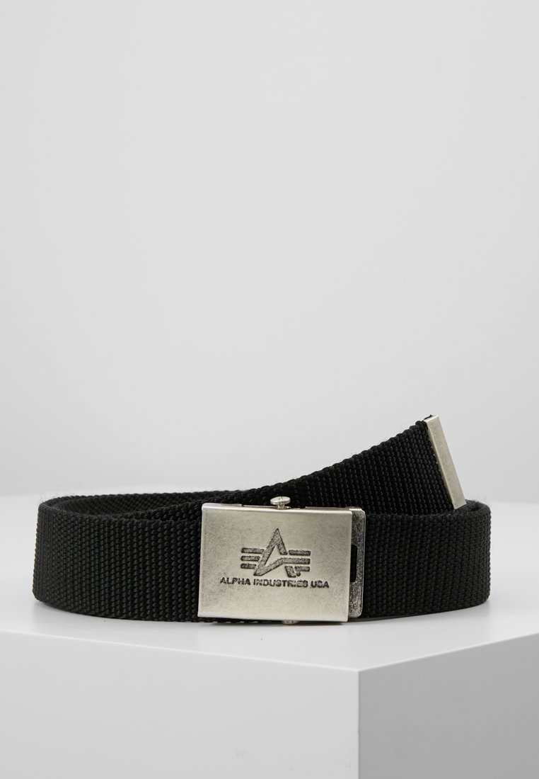 Alpha Industries - HEAVY DUTY BELT - Cintura - black