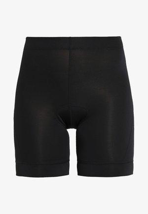 HABIT SHORT - Leggings - black