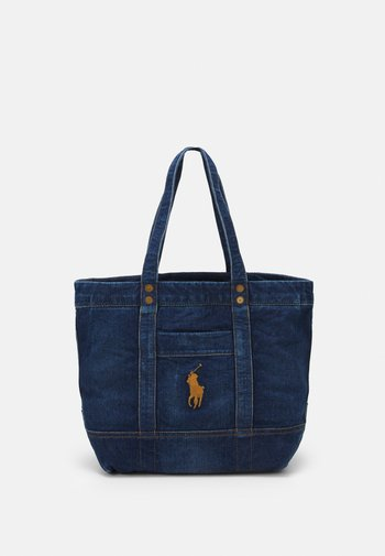 SMALL TOTE LARGE - Tote bag - dark denim
