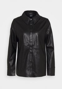 Gina Tricot - ANNIE - Button-down blouse - black - 3