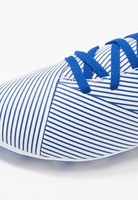 adidas Performance - NEMEZIZ 19.4 FXG - Moulded stud football boots - footwear white/royal blue/core black - 2