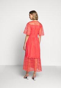 Three Floor - ETERNAL DRESS - Maksimekko - spiced coral - 2