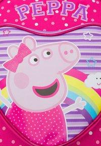 Kidzroom - BACKPACK AND PENCIL CASE SET PEPPA MAKE BELIEVE UNISEX - Batoh - pink - 5
