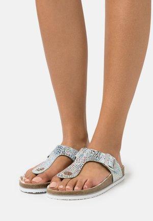 Sandály s odděleným palcem - blue