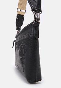 Desigual - BOLS LYRICS DURBAN ONE POCKET - Handbag - black - 3