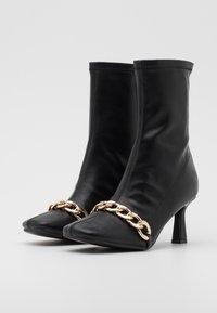 4th & Reckless - TAMSIN - Kotníkové boty - black - 2