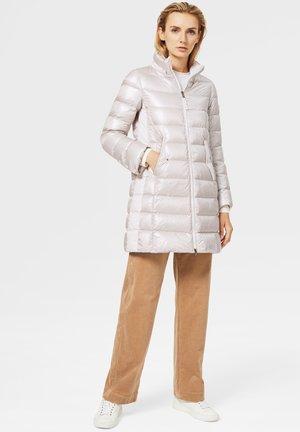 Winter coat - creme-weiß