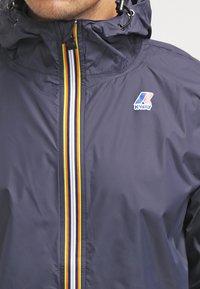 K-Way - LE VRAI CLAUDE UNISEX - Waterproof jacket - depth blue - 3