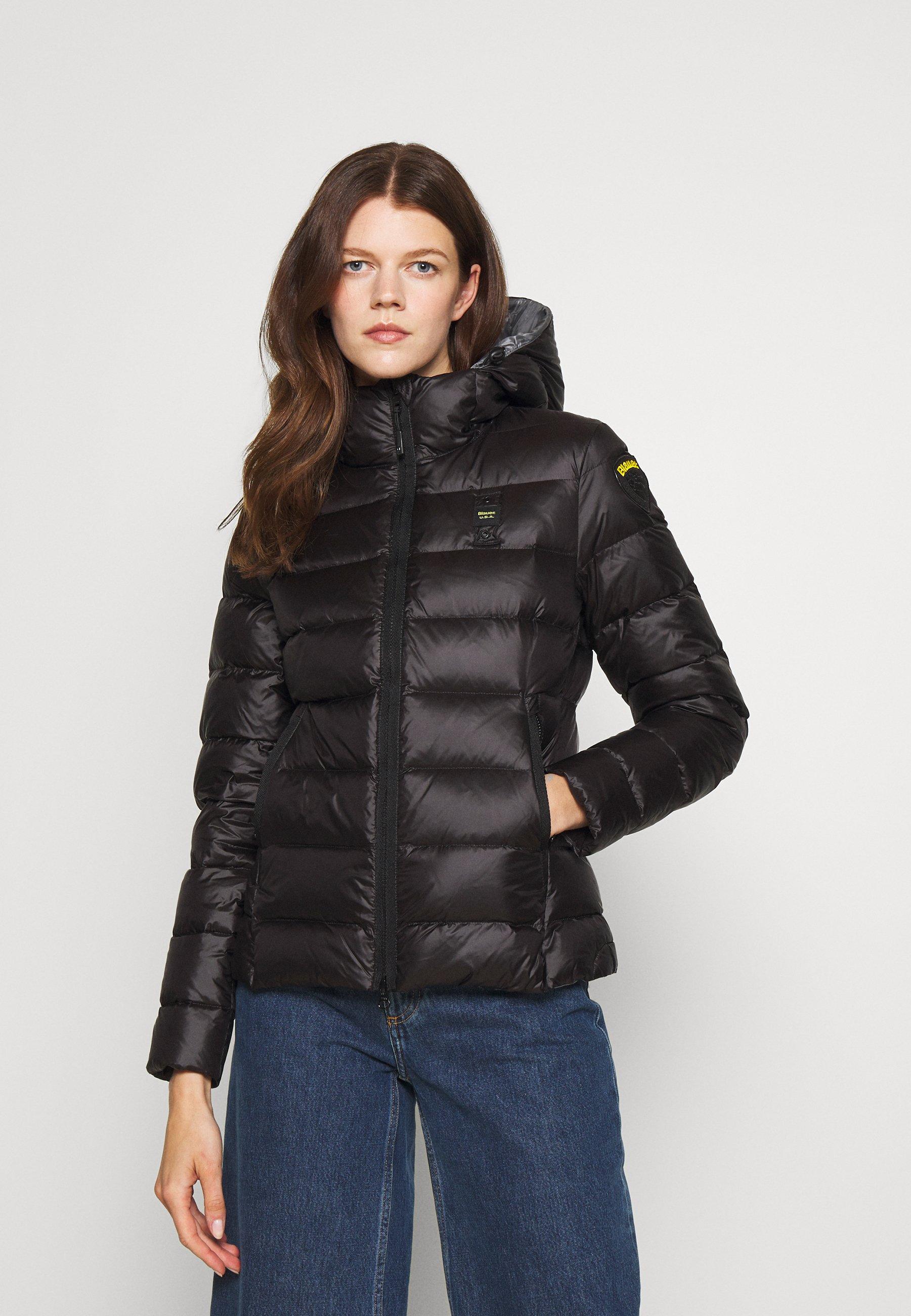 Women BASIC HOODED LIGHT JACKET - Down jacket