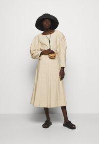 3.1 Phillip Lim - PLEATED A LINE SKIRT - A-line skirt - beige - 1