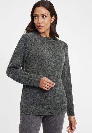 GIANNA - Jumper - dark grey melange