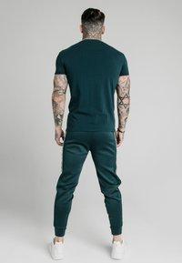 SIKSILK - STRAIGHT GYM TEE - Basic T-shirt - ocean green - 2