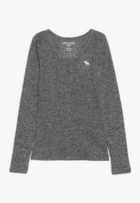Abercrombie & Fitch - COZY HENLEY - Maglietta a manica lunga - grey - 0