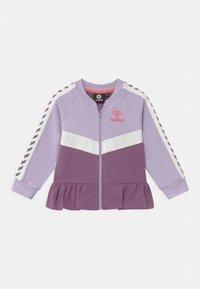 Hummel - VIOLA ZIP UNISEX - Zip-up hoodie - pastel lilac - 0