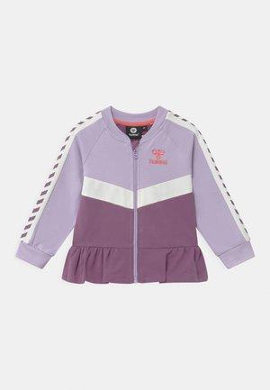 VIOLA ZIP UNISEX - Zip-up hoodie - pastel lilac