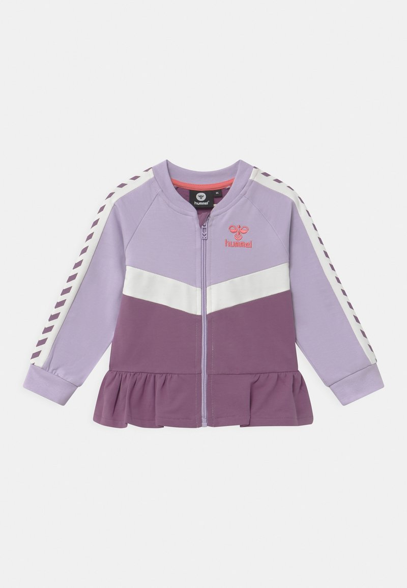 Hummel - VIOLA ZIP UNISEX - Zip-up hoodie - pastel lilac