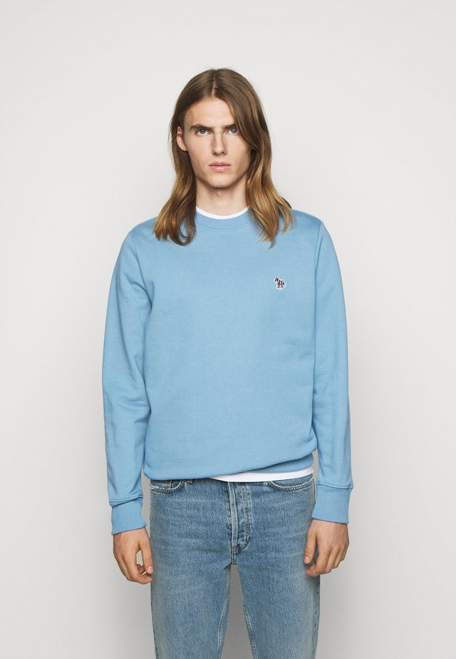 CREW NECK - Sweatshirt - light blue