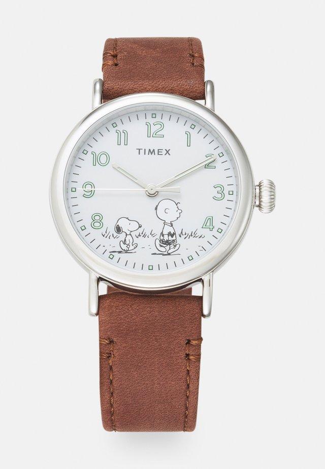 STANDARD X PEANUTS UNISEX - Watch - brown