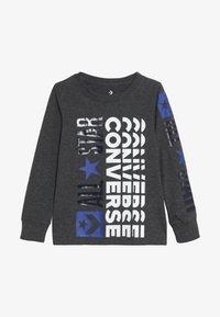 Converse - LOGO REMIX  - Bluzka z długim rękawem - charcoal grey heather - 2