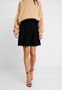 Nümph - NEW NULILLYPILLY SKIRT - A-line skirt - caviar - 0