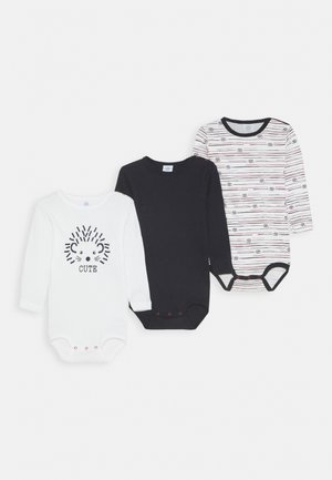 LONGSLEEVE BABY 3 PACK - Body - broken white