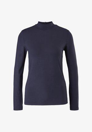 LANGARM - T-shirt à manches longues - navy