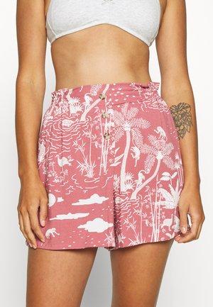 BUTTON SHORT - Bas de pyjama - pink