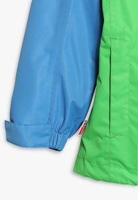 TrollKids - KIDS BRYGGEN JACKET UNISEX 2-IN-1 - Hardshell jacket - medium blue/bright green - 3