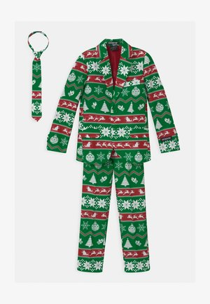 BOYS CHRISTMAS NORDIC SET - Costume - green
